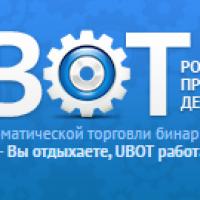 U-Bot – отзывы о роботе для автоматической торговли